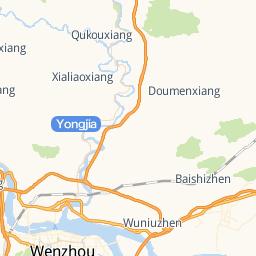 Taizhou Huangyan Huatai Apparel Co Ltd - Huangyan map