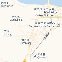 Explore Regions - Zhaoqing map