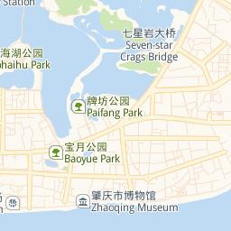 Things To Do - Zhaoqing map