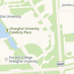 Shanghai University Baoshan Urban Family Shanghai - Baoshan map